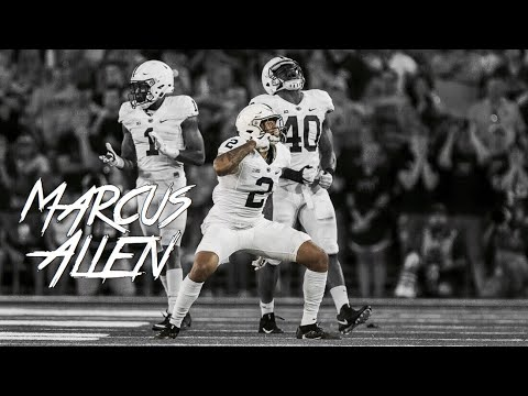 HIGHLIGHT: Marcus Allen Hits Iowa RB to Force the Fumble || 09/23/17