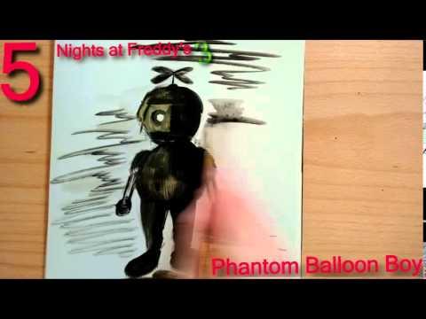 how to draw phantom balloon boy