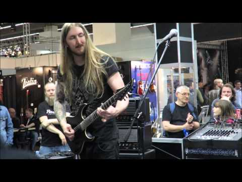 Ola Englund plays The Haunted - Time (Will Not Heal) at Frankfurt Musikmesse 2015