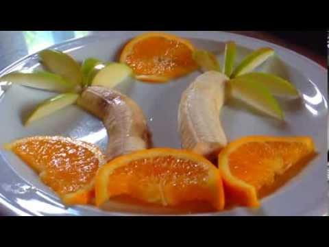 Como decorar un plato con frutas petronitas55 youtube for Como secar frutas para decoracion