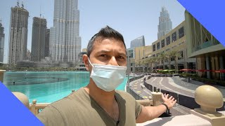 Dubai mall during a pandemic   Worlds Biggest Mall