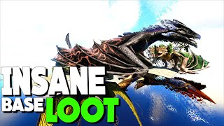 FINDING A GRIEFERS SKY BASE FILLED WITH LOOT! - Official Small Tribe | ARK: Survival Evolved S2.Ep6