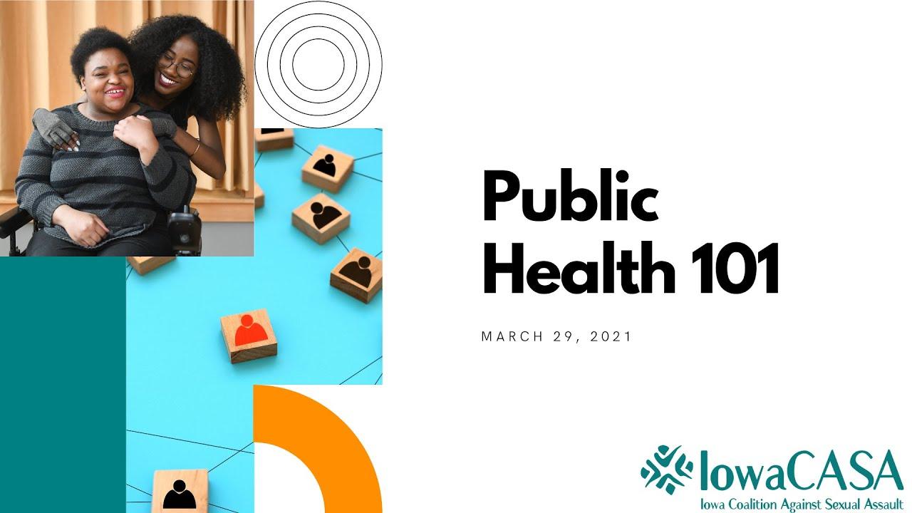 Public Health 101 E-Learning