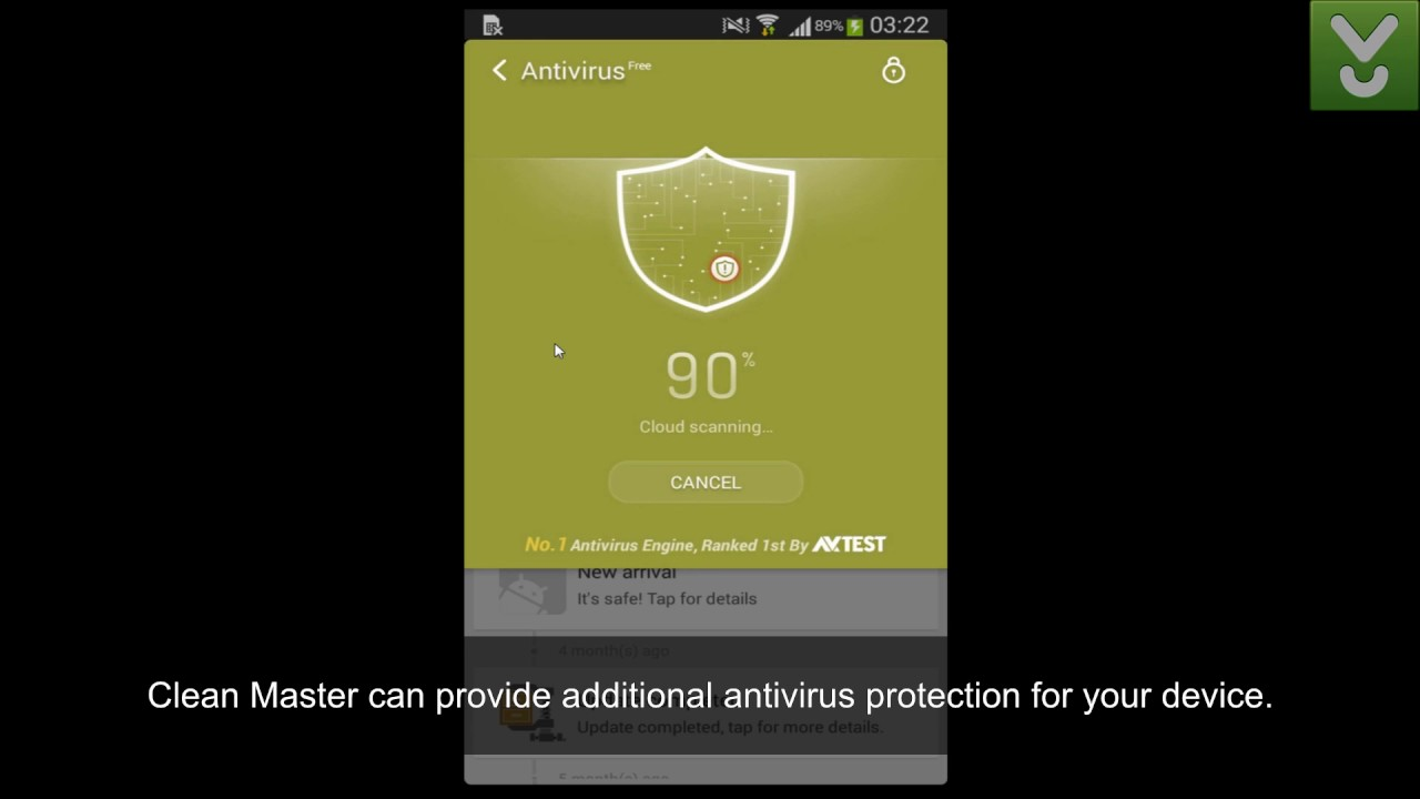 Clean Master - Optimize and clean up your Android's memory - Download Video  Previews