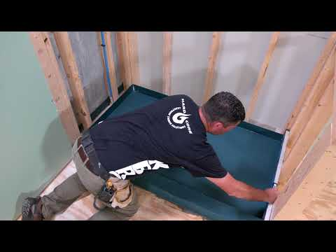 How to Install a Shower Pan (KBRS Tile-Basin®)