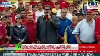 Presidente Nicolás Maduro convoca a una Asamblea Nacional Constituyente