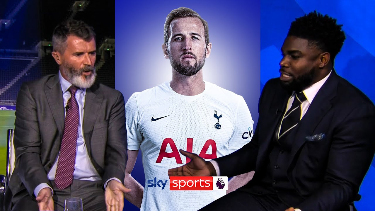 """Download """"DRAG HIM OFF!""""   Keane and Richards CLASH arguing about Harry Kane! 💥"""