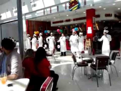 Flashmob de Johnny Rockets en Concepción