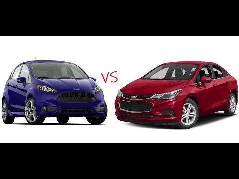 2016 Ford Fiesta ST VS 2018 Chevrolet Cruze LT Acceleration Comparison