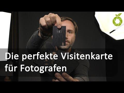 Die Perfekte Visitenkarte Für Fotografen