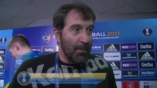 Veselin Vujovic aims high with Slovenia | IHFtv - France 2017 Men