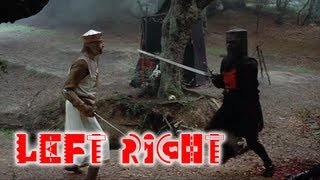 Monty Python Black Knight and The Three Stooges (Mashup)