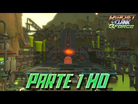 Ratchet & Clank QForce - Introducción y Refinería Korgon - Planeta Markazia - Parte 1 HD
