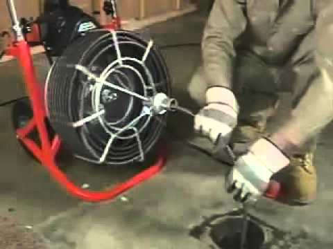 Easy Rooter Power Drain Cleaner- GENERAL WIRE SPRING COMPANY - YouTube