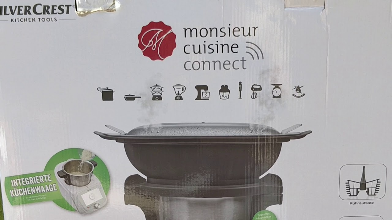 Deballage Monsieur Cuisine Connect Youtube