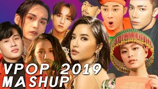 VPOP MEGAMASHUP 2019 - 62 BÀI HÁT - VPOP MEGAMIX by DXY [Official Audio]