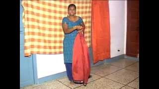 Tying Iyer | Madisar saree | Iyer madisar saree | 9 yards saree
