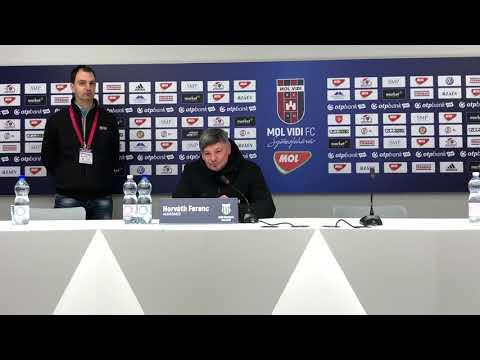 Így látta a MOL Vidi elleni mérkőzést Horváth Ferenc