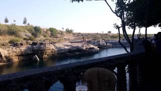 Прыжки в воду ресторан Ниагара  Подгорица  Черногория(Отдых в Черногории. Ресторан Ниагара в Подгорице., 2015-09-02T12:57:47.000Z)