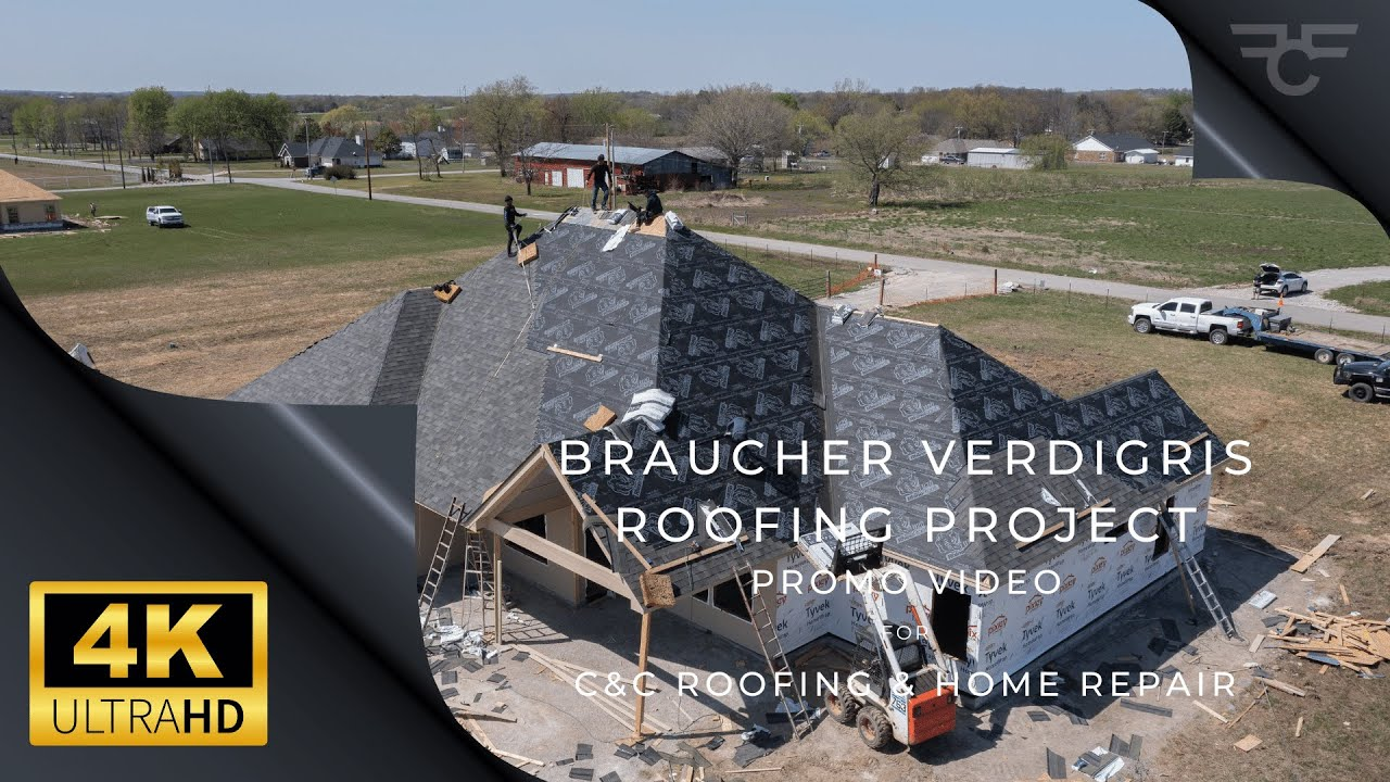 C & C  Roofing & Home Repair / Ronnie J. Braucher Roofing Progression & Highlights - 4K UHD