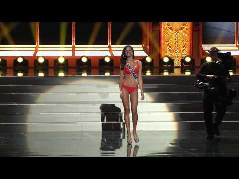 Reaccion del publico al final de la preliminar del Miss Universo 2013 (Parte 1 de 2)