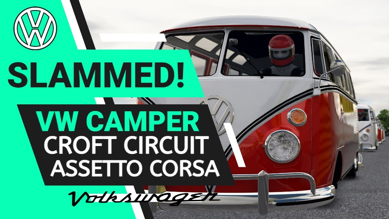 Mr Watton: Racing VW Campers in Assetto Corsa
