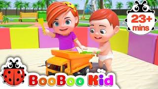 Outdoor Song  + More Nursery Rhymes & Kids Songs | Boo Boo Kid