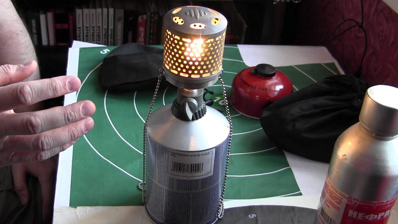 Газовую лампу своими руками