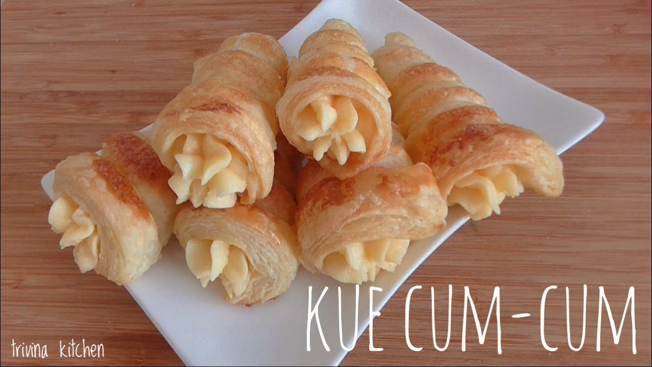 Resep Kue Pie Jepang: CREAM HORN / CORNET PIE RECIPE