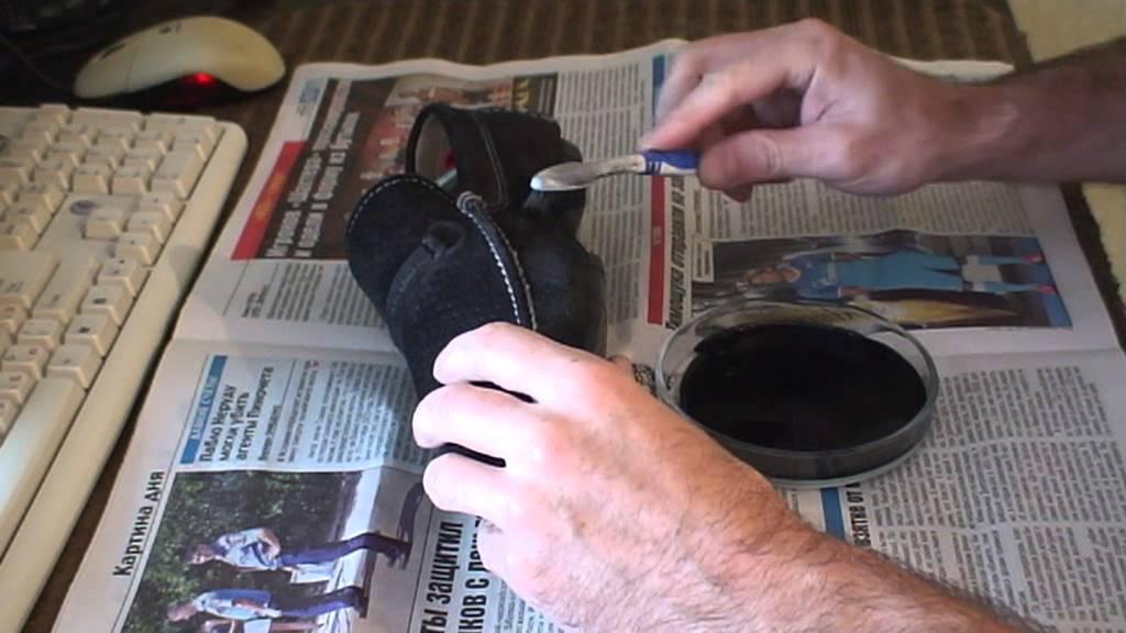Восстановите цвет вашей любимой обуви и аксессуаров из замши и нубука.