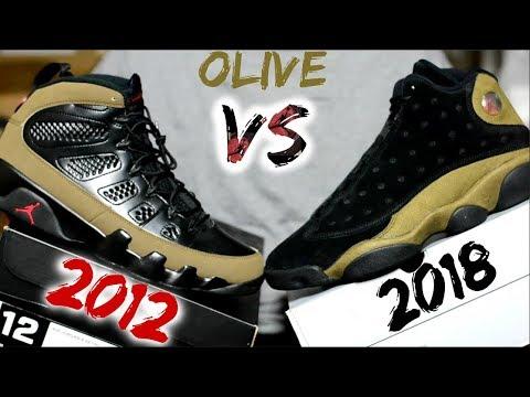 2012 Jordan 9 vs. 2018 Jordan 13