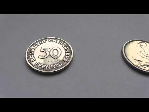 50 Pfennig - Bank deutscher Länder - Geld aus dem Jahr 1949