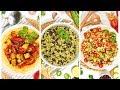 3 Easy Vegan Recipes   Healthy Meal Plans 2020