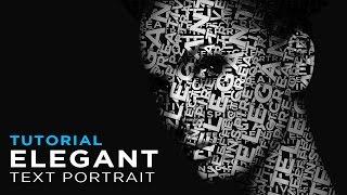 Photoshop Tutorial: How to Create an Elegant Text Portrait