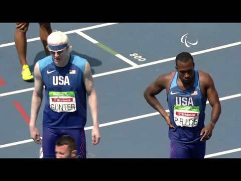 Athletics | Men's 400m - T13 Final | Rio 2016 Paralympic Games