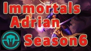 Immortals Adrian Soraka Support vs Blitzcrank Patch 6.1