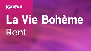 Karaoke La Vie Bohème - Rent *
