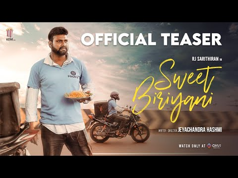 Sweet Biriyani - Official Teaser | Sarithiran | Jeyachandra Hashmi | ONVI Movie | Little Shows