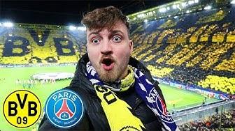 Dortmund - PSG 2:1   Haaland ist ein Alien   Champions League Stadionvlog - ViscaBarca