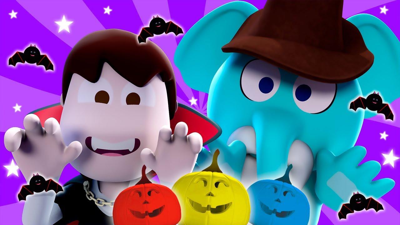 🎃 ¡A Jugar con Las Calabazas de #Halloween! 🎃| Canciones del Zoo