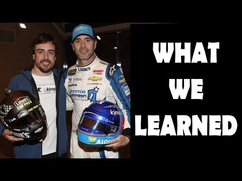 Jimmie Johnson/Fernando Alonso Seat Swap -- EVERYTHING WE LEARNED