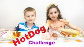 Хот-Дог Челлендж. Необычный банановый ХотДог | Hot Dog Challenge
