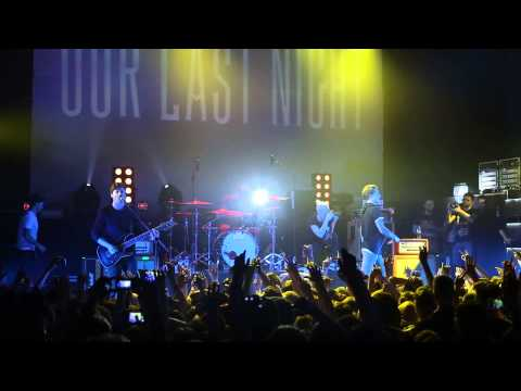 Our Last Night - Dark Horse (Katy Perry cover) (live in Minsk, 22-04-15)
