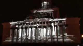 Световое шоу на ВДНХ. Азербайджан-Венгрия-Португалия-Венгрия