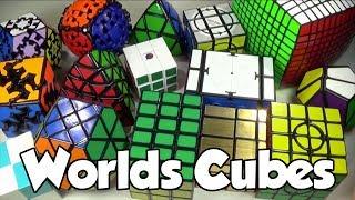 Cubes I Got at Worlds 2013