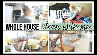 ULTIMATE WHOLE HOUSE ALL DAY CLEAN WITH ME 2019 | CLEANING MOTIVATION