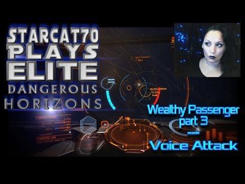 StarCat70 Plays | Elite Dangerous:  Horizons | A Wealthy Passenger Part 3