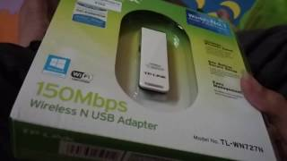 [Unboxing Review] TP-Link TL-WN727N