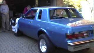 1980 Dodge Diplomat Coupe - 360 idle walk around car