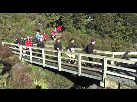 Springtime travel New Zealand Tour 2014 - Tongariro visit
